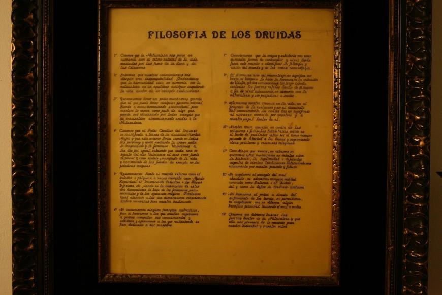 FILOSOFIA DE LOS DRUIDAS